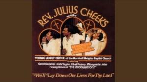 Julius Cheeks - When I Pray